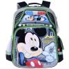 Дисней (Disney) Микки детские школьные сумки милый минималистский легкий рюкзак школьный портфель MB0479C черный и зеленый конфусиус школьный портфель 1 6 grade светоотражающие легкий мульти карман k503 легко чистить синие детские школьные сумки