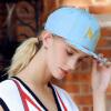 [Супермаркет] Jingdong поэзия Дэн Кайс (sedancasesa) WG170006 бейсболки шляпа женская корейская приливная плоских шляп модель шлет отдых моды пары голубой