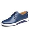 Yicki EGCHI повседневная мужская обувь корейская версия бизнес-совета обувь музыкальная обувь повседневная обувь вождение обувь 1985 синий 43 обувь shoiberg