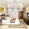 NVC (NVC) европейские люстры живые столовая освещение спальни EFD9001 / 8 (источник света необходимо повторно подготовить) люстры