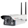 Worthida (woshida) WS8410 беспроводная камера наблюдения одна машина 720P двойная антенна WIFI сетевая камера HD ночное видение с 16GTF объектив карты 4MM woshida 62h10p 720р цифровое видеонаблюдение 4mm