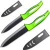XYJ Марка 5 нарезка 6 Нож поварской 2pcs Керамические ножи с ножны Кухонные ножи Лучшие подарки