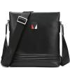 Красная стрекоза RED DRAGONFLY Мужская кожаная сумка Сумка кожаная сумка 6751A0241X Черный кожаная сумка