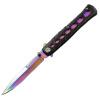 Paulone высокая твердость по сравнению с выживанием Дикий кемпинг складной нож острый нож инструмент самозащиты Оборонительные игроков золота QSD009 нож складной boyscout 61286