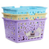 корзины пластиковые корзины небольшие корзины в ванной для хранения