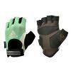 адидас адидас перчатки импортирован гантелей фитнес скольжения половину пальца перчатки зеленый M код старые коллекции адидас ориджинал