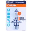 OSRAM 12V 55w 60 / 55W 3200K Галогенные оригинальные запасные части OEM Галогенная лампа для автомобилей 1X Новый H1 / H3 / H4 / H7 / H11 для Honda / Toyota / BMW AUDI лампа osram h4 60 55w 12v night breaker unlimited 2 шт
