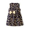 Fuluo чо Flordeer французская детская одежда девочек лук жилет юбка платье F61009 желтый 100 ai fuluo iflow