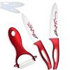 Красный печати керамическое лезвие кухонный нож Набор 5, 6-дюймовый нарезка нож шеф-повара Марка XYJ Керамические ножи xyj марка 5 дюймовый нож нарезка керамические ножи и нож кухонный нож набор приготовления инструменты лучшие подарки