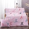 [Супермаркет] Jingdong антарктический (NanJiren) подушки были текстильная хлопок подушка мультфильм офис поясничной сумерки 110 * 150см [супермаркет] jingdong антарктический