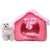 Клетка США Kojima осень и зимой моющиеся принцесса дом гнездо для кошачьих туалетов домашних животных гнезда комнаты