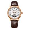 Чайка (SeaGull) многофункциональные часы полые Маховик автоматические механические часы бизнес мужчины часы водонепроницаемый черн