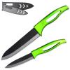 XYJ Марка кухни Набор ножей 4, 6-дюймовый нож шеф-повара Utility Зеленый Ручка Керамические ножи приготовления инструменты китель шеф повара москва