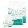 PurCotton бумажные салфетки вытяжные 20 * 20см 100/мешок 6*3 шт. purcotton ватные диски 100 кусков мешок 4