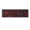 AKKO AKS механическая клавиатура 104 клавишы полностью клавиатура Игровая клавиатура подсветка-источник света розово-белый клавиатура