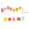 Германия может соответствовать классическому миру носить бусы детской образовательная строительных блоки младенца износа бисерных веревки игрушку DIY Digital 3637 большую мягкую игрушку собаку лежа в москве