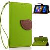 Зеленый дизайн Кожа PU откидная крышка бумажника карты держатель чехол для Nokia Lumia 925 велосипед и одуванчика дизайн кожа pu откидная крышка бумажника карты держатель чехол для nokia lumia n630