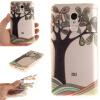 Ручная роспись деревья шаблон мягкой тонкой ТПУ Резиновая крышка случая силикона геля для XiaoMi RedMi Note 4