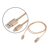 1M Nylon Braided Cable FAST USB Charger Cable for iPhone 7 Plus 6 6S Plus SE 5S 5S 5C 5, iPad Pro Air, iPad 2 3 4 Mini, iPod 58030 floveme aluminum tablets stand case for ipad 2 3 4 air 2 mini for iphone 5s 6 6s 7 plus for galaxy s7 edge flexible angle adjust