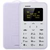 AIEK C6 1.0 дюйма CardPhone Bluetooth 2.0 Календарь Будильник Калькулятор