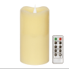 Светодиодные Свечи Беспламенного Свечи С Romote Управления и Таймер, Simplux Сыпучих 3D Безогневой пламя, Реальный Воск, Battery-O