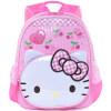 Hello Kitty (HelloKitty) детский сад мешок мило случайные и простой портативный детский сад сумка рюкзак CC-HK3162B черный детский