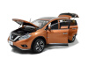 масштаб 1:18 Nissan Murano 2015 Diecast модель автомобиля коричневый 2pc abs after the triangle decorate for nissan murano 2015