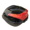 Mantra мотоцикл мотоцикл багажник электрический автомобиль большая емкость задний багажник большой труба место хранения ящик для инструментов черный новый водонепроницаемый мотоцикл мотоцикл крепление черный циферблат часы аксессуар