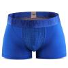 VKWEIKU британские брюки мужское нижнее белье брюки с плоским углом брюки мужское нижнее белье модальные четырехугольные брюки синие XXXXL мужское нижнее белье