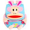 Пол Франк обезьяну рот мужского и женского пола детских школьных сумок ребенка питомник 3D трехмерное моделирование маленький розовый мешок 3-6 лет YEB21812P pola 9028 черная pol женская из кожи