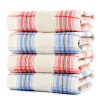 Bamboo Kam Towel Home Textiles Bamboo Pulp Fiber Infant Kids Gauze Towel Slimming Small Towel Simple Lattice Washing Towel 4 bathroom shelves wall mounted towel rack bars bath towel carved holder 2 tier brass bathroom accessories towel tack ssl s22