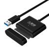 Шершень (BUMBLEBEE) Д-1093BBK USB3.0 к SATA конвертер SSD 2,5 / 3,5 дюйма 1,2 м Данные линии легко управлять линией рабочего стола ноутбук жесткой линии transformers bumblebee and grindor
