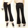 KuoyiHouse женские джинсы с бахромой брюки клёш