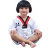 Тхэквондо подходит для детского хлопка летом с половиной-рукавом одежды хлопок таэквондо одежды мужчин и женщин, тренировочная одежда
