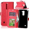 Red Style Classic Flip Cover с функцией подставки и слотом для кредитных карт для LG Stylus 2 Plus/LG Stylo 2 Plus сотовый телефон lg stylus 3 m400dy
