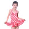 Yi Zi студенты дети девочки девочки и девочки в ребенке Tong Si волна точка юбка купальник фон точек Ezi1071 18 лет