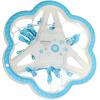 Вешалки для одежды пластиковые сушильные стеллажи для печати цветной сливы 24 папки для подвесных стеллажей HD-0736 синие и белые