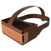 Focalmax-Accordion VR-очки 3D-очки виртуальной реальности VR шлем (коричневый) baofengmojing vr очки 3d шлем