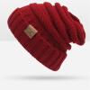 WISHCLUB Вязание крышки шлема Мужчины Женщины шлема зимы Skullies Beanies Унисекс Теплый Шапка skullies
