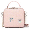 Когда Европа удовлетворена (JUST STAR) Новые тенденции сумки плеча сумки женщин маленькие сумки дамы моды сумки JS056L великолепный голубой сумки