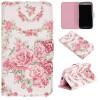 Розовые розы Дизайн Кожа PU откидная крышка бумажника карты держатель чехол для SAMSUNG GALAXY Grand Neo Plus I9060 шляпная коробка grand розы freedom blvck