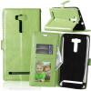 Зеленая классическая флип-обложка с функцией подставки и слотом для кредитных карт для Asus Zenfone 2 Laser ZE601KL зеленая классическая флип обложка с функцией подставки и слотом для кредитных карт для asus zenfone 3 zs550ml