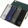 [Супермаркет] Jingdong семь волков мужское белье мужское белье LENZING вискоза брюки Ming сухожилиями боксеров 4 штучной XL