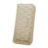 Ворсли (FOXER) г-жа бумажник кожаный бумажник долго разделе высокой емкости мульти-карта бита молния сумки г-жа сцепления 241039F4O золота