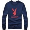 PLAYBOY Playboy мужской моды случайные свитер шею длинными рукавами футболки 16045PL1910 Борланд 3XL
