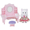 Sambler семья японский бренд принцесса игрушка девочка кукла дом моделирования лес семья дом сцена магазин дом - модный туалетный столик SYFC52358