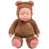 Бибер (Бибер) Tsai Медведь серии гудок куклы сна умиротворить куклы плюшевые игрушки куклы моделирования детские игрушки умиротворить высокий 36см коричневый джд джой joy обезьяны плюшевые игрушки куклы no