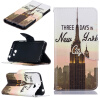 Башня дизайна PU кожа флип крышку кошелек карты держатель чехол для HUAWEI Y5 II смартфоны huawei y5 2017 grey