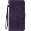 Purple Tree Design PU кожа флип крышку кошелек карты держатель чехол для HUAWEI HONOR 5A