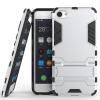 Серебряный Slim Robot Armor Kickstand Ударопрочный жесткий корпус из прочной резины для MEIZU U10
